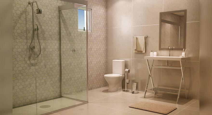 Colocação de porcelanato em Curitiba  CS  A MELHOR -> Banheiro Pequeno Com Porcelanato Grande